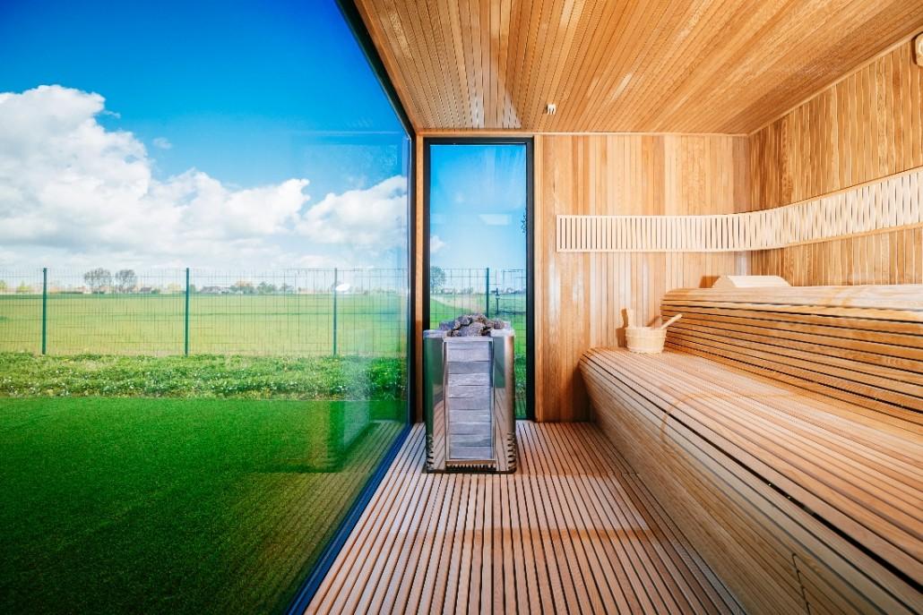 Alpha Outdoor Sauna Luxury Sunspa Sauna