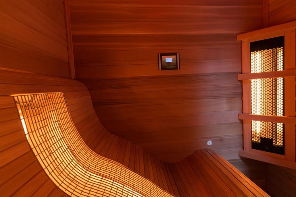 Infrawave Relax Lounge Infraredsauna Sunspa Sauna